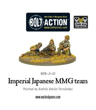 Bolt Action Imperial Japanese MMG team