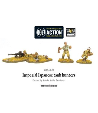 Bolt Action Imperial Japanese tank hunters