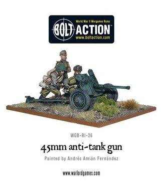Bolt Action Soviet 45mm Anti-Tank Gun