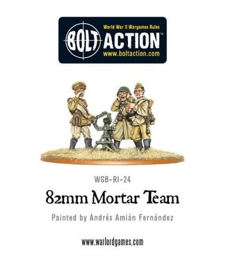 Bolt Action Soviet 82mm Mortar Team