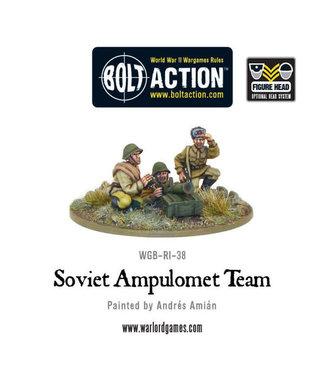 Bolt Action Soviet Ampulomet Team