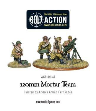Bolt Action Soviet Army 120mm heavy mortar team