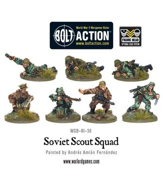 Bolt Action Soviet Army Scouts