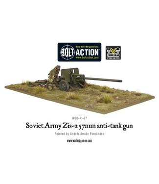 Bolt Action Soviet Army Zis-2 57mm anti-tank gun