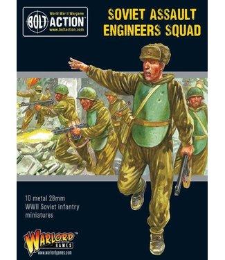 Bolt Action Soviet Assault Engineers squad