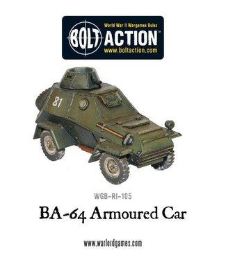 Bolt Action Soviet BA-64 Armoured Car