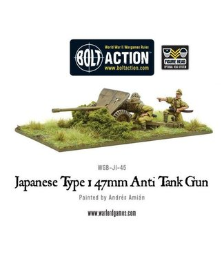 Bolt Action Japanese Type 1 47mm Anti Tank Gun