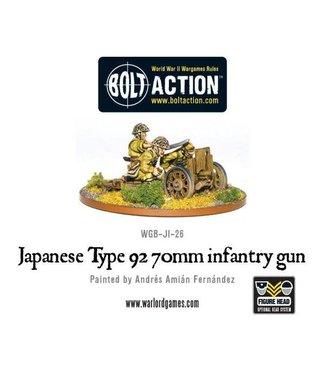 Bolt Action Japanese Type 92 70mm infantry gun