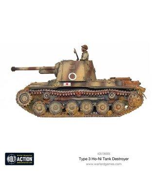 Bolt Action Type 3 Ho-Ni Tank Destroyer