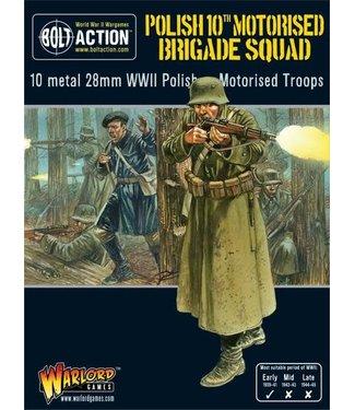 Bolt Action Polish 10th Motorised Brigade Squad