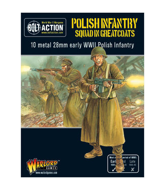 Bolt Action Polish Infantry Squad in greatcoats