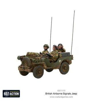 Bolt Action British Airborne Signals Jeep