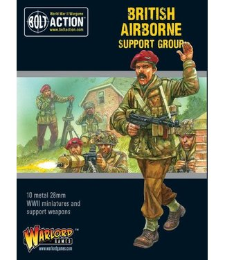 Bolt Action British Airborne support group