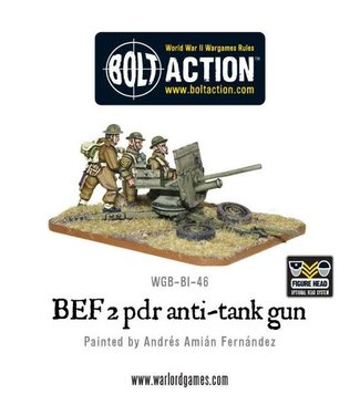 Bolt Action BEF 2 pounder anti-tank gun