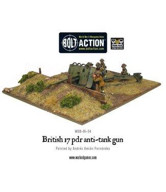 Bolt Action British Army 17 pdr anti-tank gun