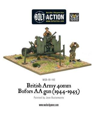Bolt Action British QF 40mm Bofors AA gun Mk III (1942-1945)