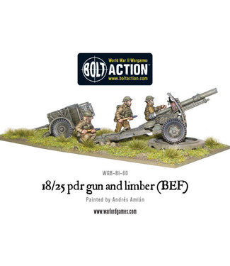 Bolt Action 18/25pdr Gun and Limber (BEF)