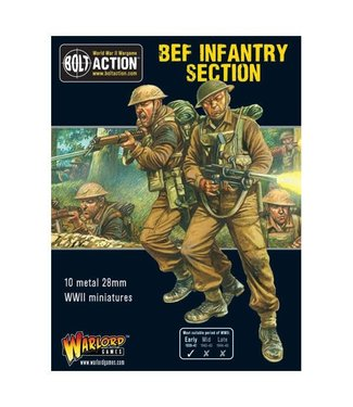 Bolt Action BEF Infantry Section