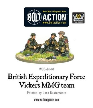 Bolt Action BEF Vickers MMG team