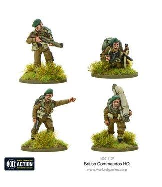 Bolt Action British Commandos HQ
