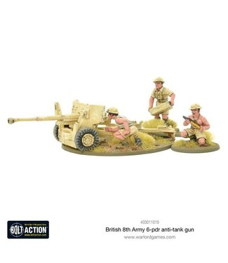 Bolt Action 8th Army 6 pounder ATG