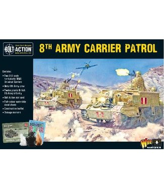 Bolt Action 8th Army carrier patrol