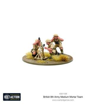 Bolt Action 8th Army Medium Mortar Team