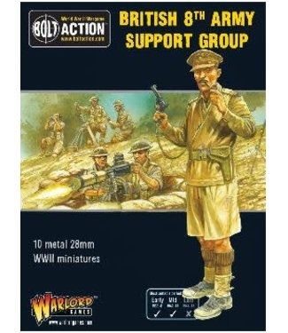 Bolt Action British 8th Army Support Group