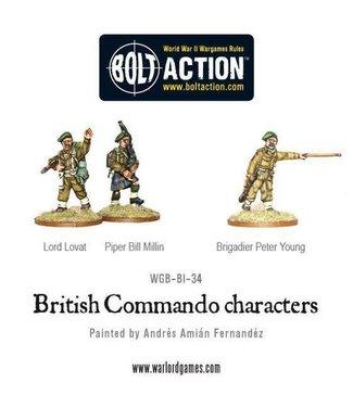 Bolt Action British Commando Characters