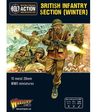 Bolt Action British Infantry section (Winter)