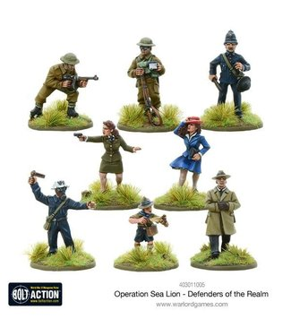 Bolt Action Defenders of the Realm
