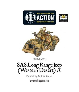 Bolt Action SAS long range Jeep (Western Desert) A