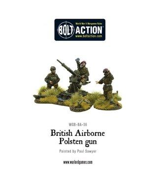 Bolt Action British Airborne Polsten Gun