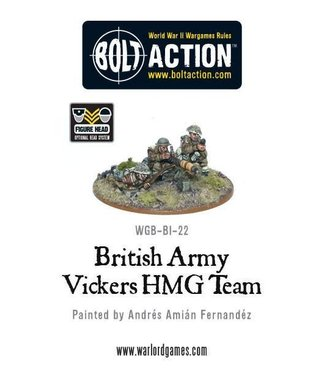Bolt Action British Army Vickers MMG Team