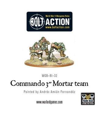 "Bolt Action British Commando 3"" Mortar Team"