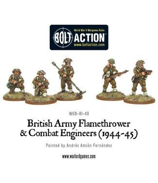 Bolt Action British Flamethrower & Combat Engineers