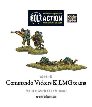 Bolt Action Commando Vickers K LMG teams
