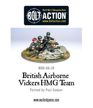 Bolt Action British Airborne Vickers MMG Team
