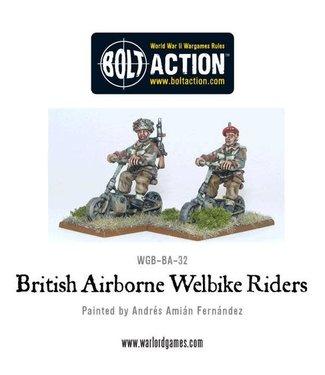 Bolt Action British Airborne Welbike Riders