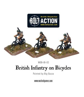 Bolt Action British Infantry on bicycles