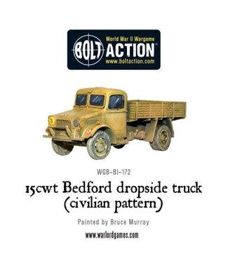 Bolt Action 15cwt Bedford dropside truck (civilian pattern)