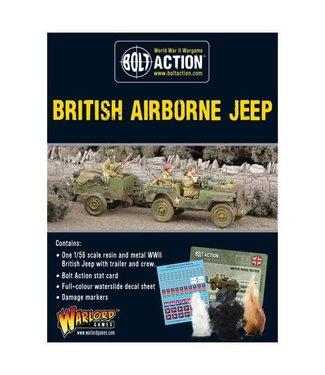 Bolt Action British Airborne Jeep & Trailer