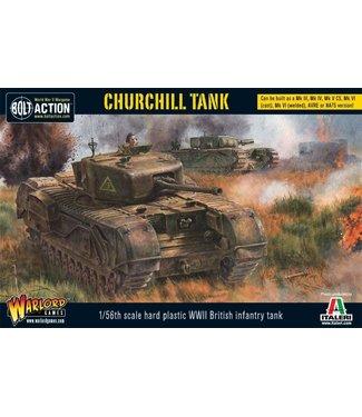Bolt Action Churchill Tank (Plastic)