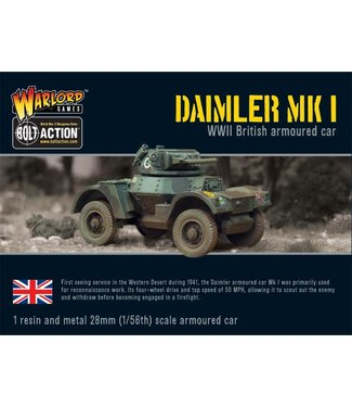 Bolt Action Daimler Armoured Car Mk 1