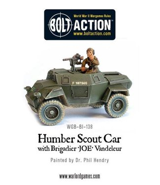 Bolt Action Humber Scout Car
