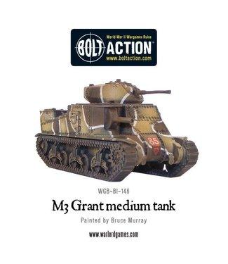 Bolt Action M3 Grant medium tank
