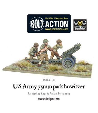 Bolt Action US Army 75mm pack howitzer