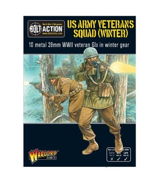 Bolt Action US Army Veterans Squad (Winter)