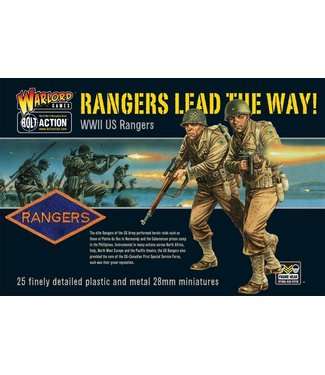 Bolt Action Rangers Lead the way