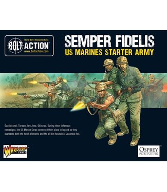 Bolt Action Semper Fidelis - US Marines Starter Army